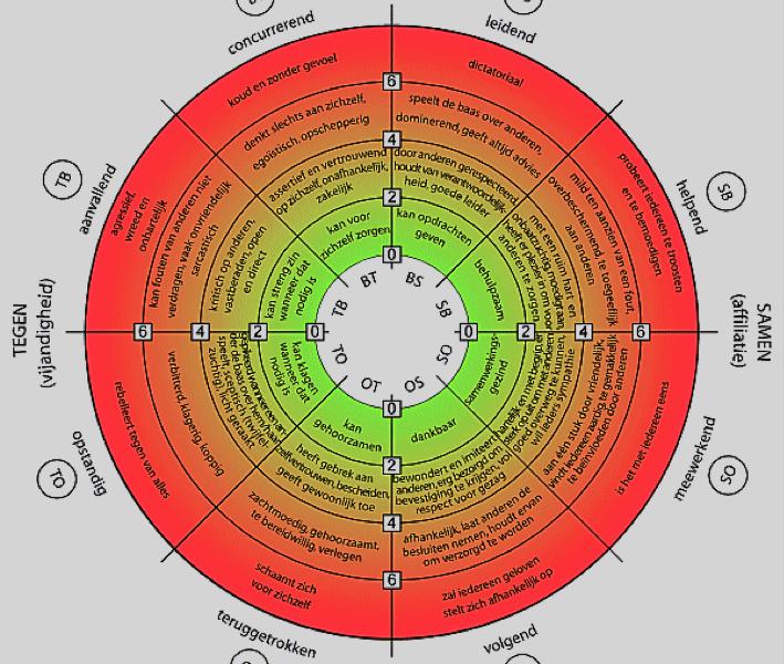 Hoe ontdek ik mijn gedragspatroon (naar roos van Leary)?