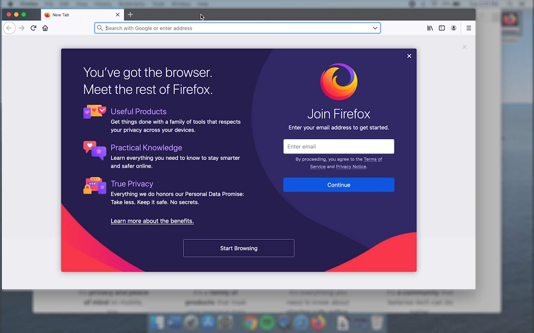 install firefox on macbook
