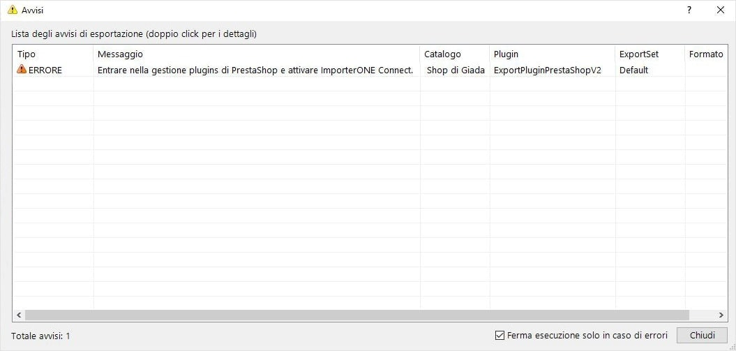 Plugin Prestashop csv ImporterONE