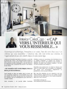 Interior CréaCap- Architecte d'intérieur Gers - Publié dans Maison et Jardin