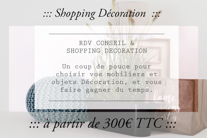 Shopping décoration