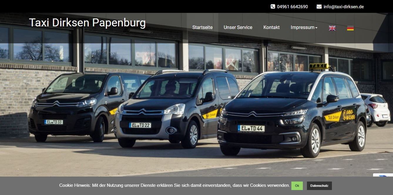 taxi-dirksen.de