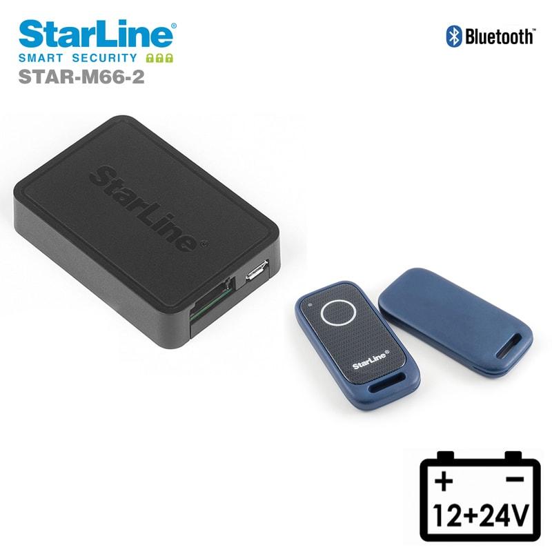 Starline M66-2 Ortungssystem mit Can Bus Wegfahrsperre über die Bluetooth Tags