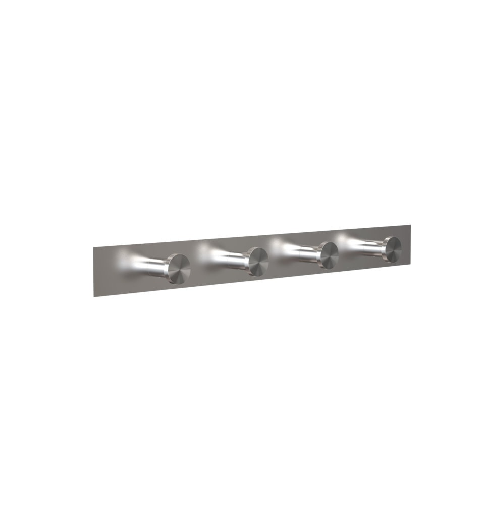 N1126 Brushed Stainless