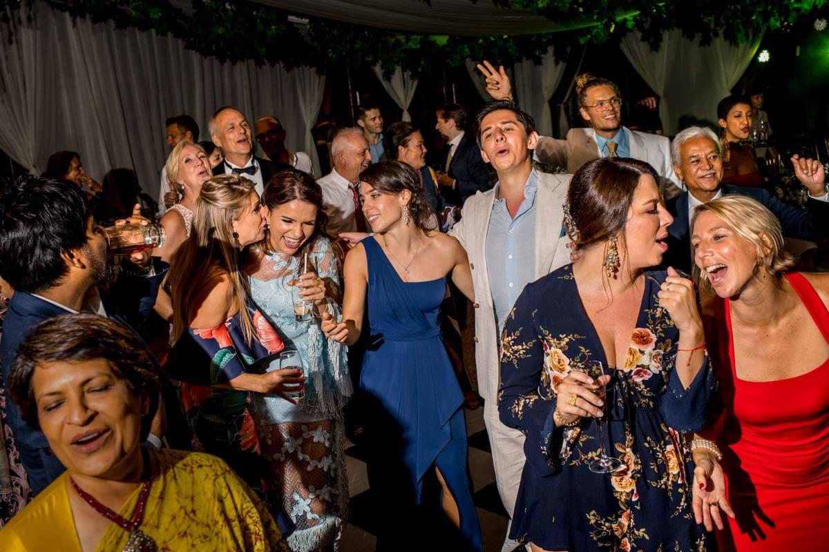 A wild celebration by Shangri-La wedding photographer Julian Abram Wainwright