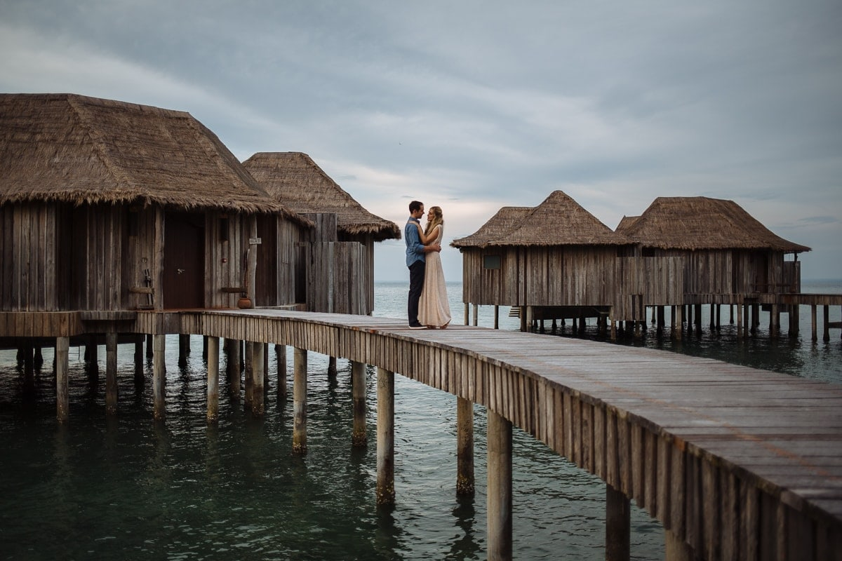 Destination wedding at Song Saa
