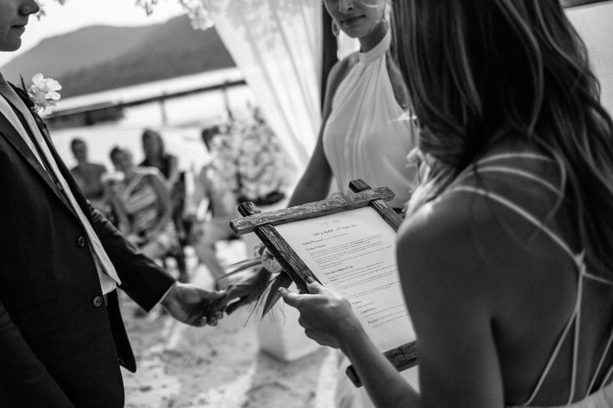 Song Saa wedding Cambodia