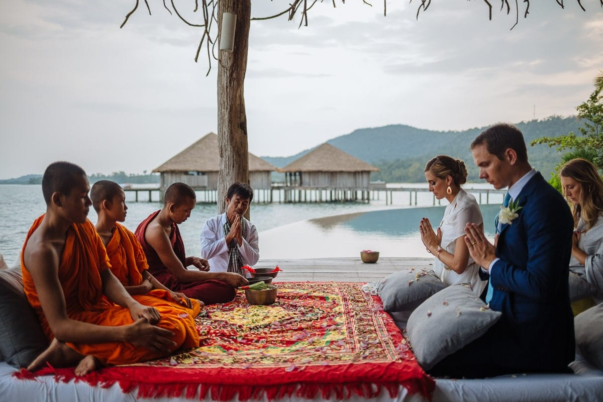 Song Saa traditional Khmer wedding photography