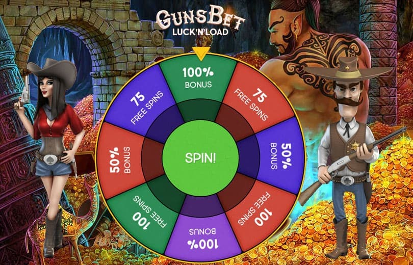 Gunsbet Casino Welcome Bonus Offer