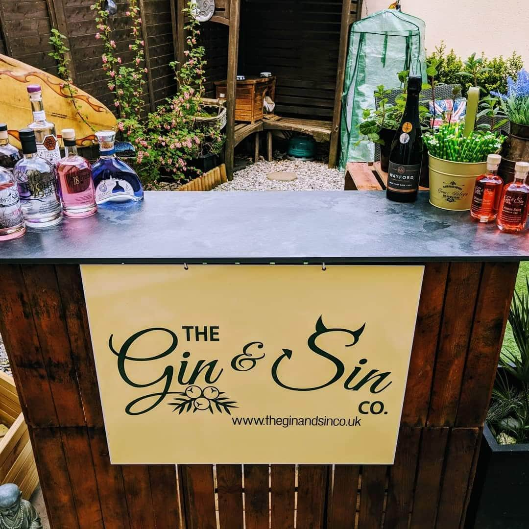Gin and Sin Bar - The Gin and Sin Company
