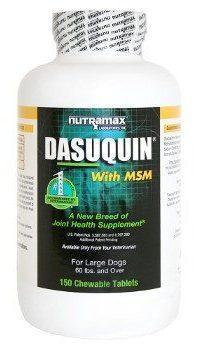 Nutramax dasuquin glucosamine on white background