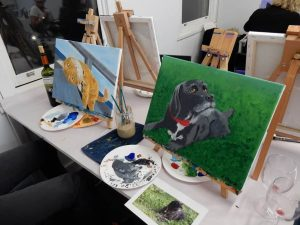 paint and sip workshops in Melbourne