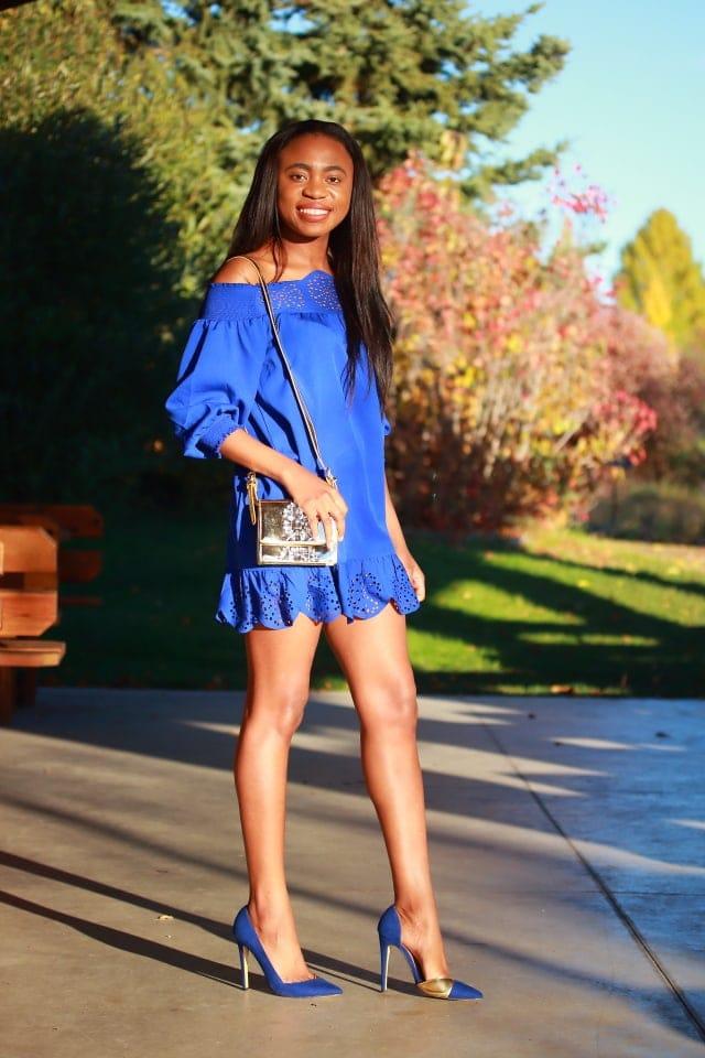 Peplum hem dress, Alaska fashion, Alaska blogger, online shopping, affordable shopping, loose dress