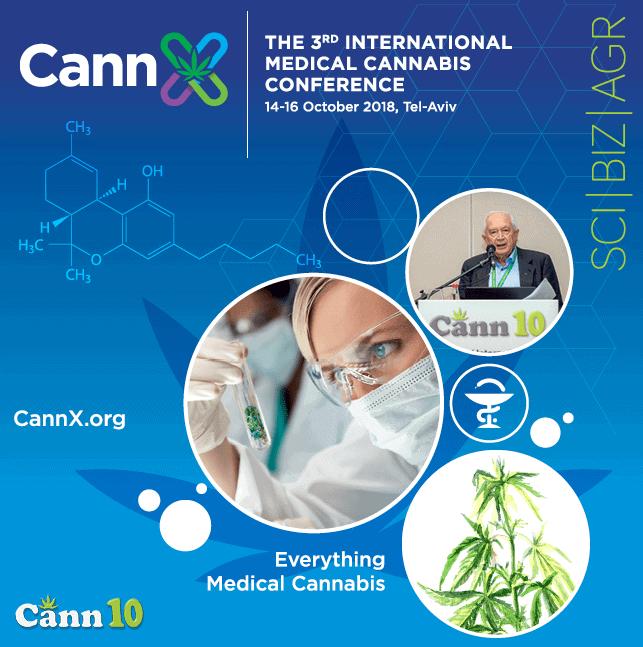 """Tel Aviv: 3. Cannabis-Konferenz """"Cann10"""" startet am 14. Oktober"""