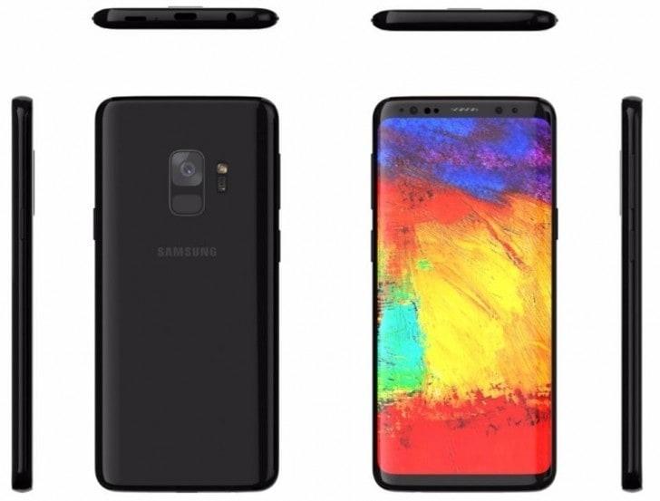 Leak das especificações do Samsung Galaxy S9