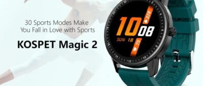 Kospet Magic 2? Relógio bonito, bom e barato! (23€)