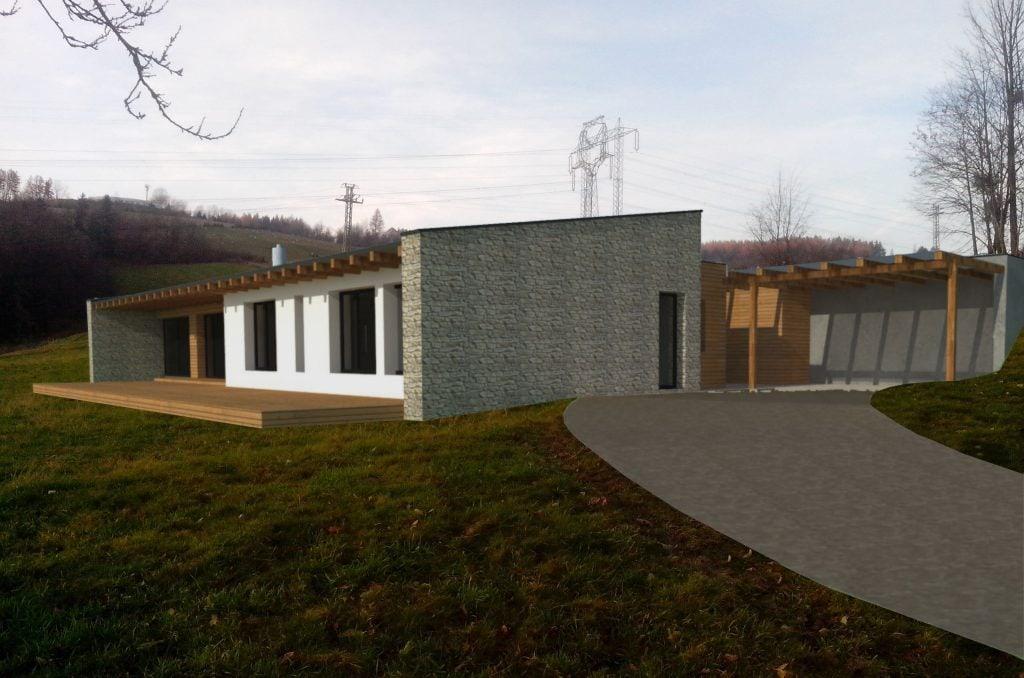 Novostavba rodinného domu Palkovice