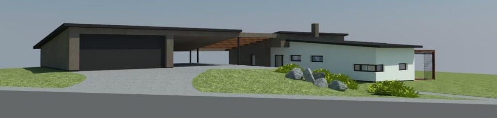 Novostavba rodinného domu Vidče