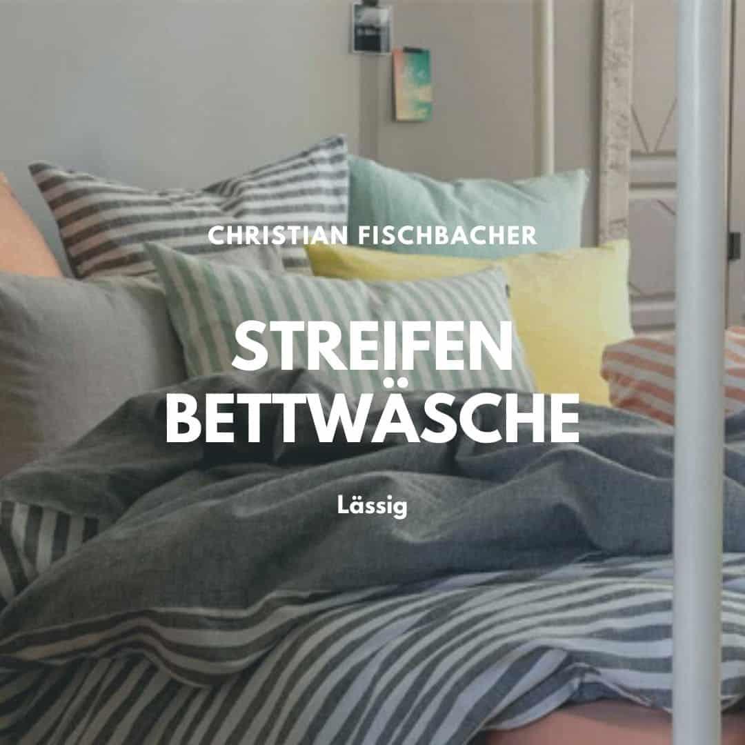 Streifen Bettwäsche von Fischbacher