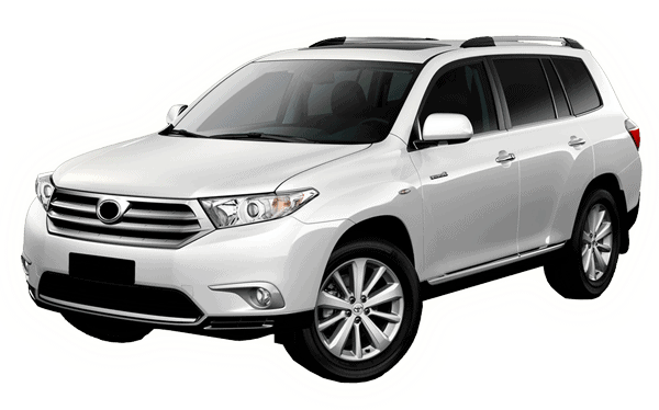 Toyota Kluger 7 seater - People Mover for hire