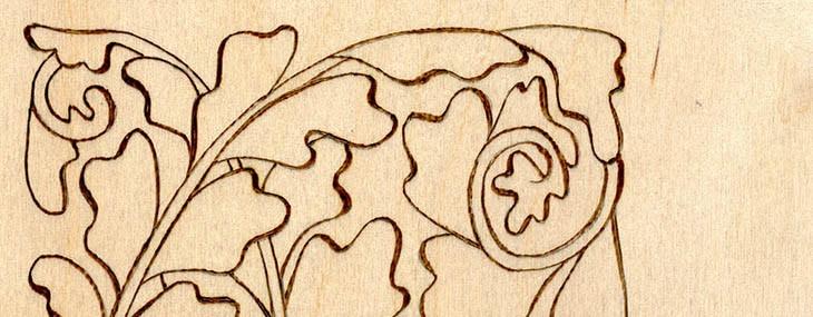 Pyrograhy Doodles #2