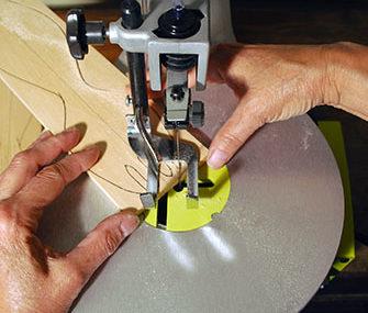 Cross-Crafting Seminar, Cutting a Wooden Spoon
