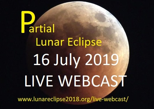 Partial Lunar Eclipse - Live Webcast