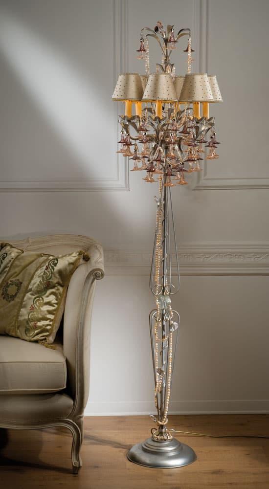 FL2461-lampade-da-terra-design-piantane-classiche-di-lusso-vetro-murano-artigianali