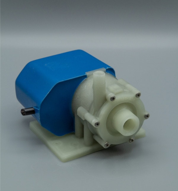 March Pump's 2CP-MD centrifugal sealless magnetic drive submersible pumps ideal for marine applications.