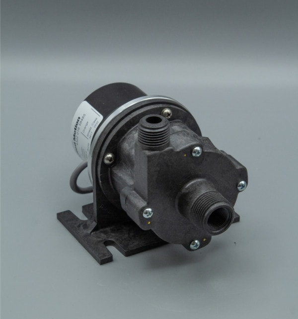 March Pump's 809-PL-HS-C centrifugal sealless magnetic drive pumps with DC brushless motor.