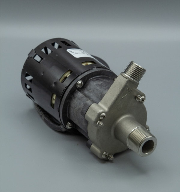 March Pump's 809-SS-C centrifugal sealless magnetic drive pumps with Stainless Steel front housing.
