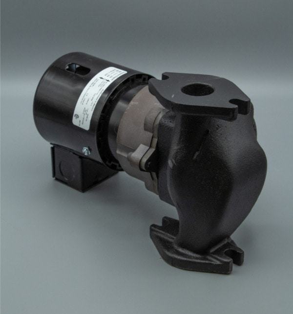 March Pump's 821-CI centrifugal sealless magnetic drive pumps ideal for hot water applications.