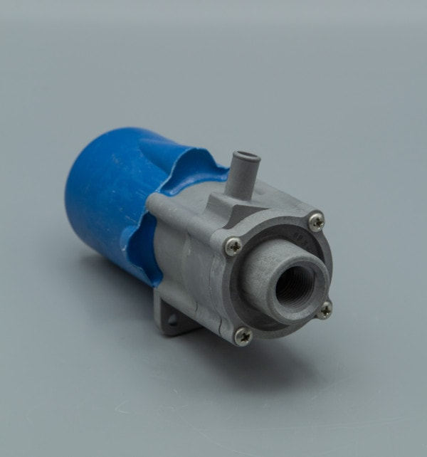 March Pump's 893-06 centrifugal sealless magnetic drive submersible DC brush type 24V pumps ideal for marine applications.