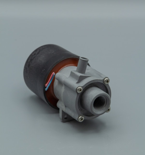 March Pump's 893-09 centrifugal sealless magnetic drive submersible DC brushless 12V pumps ideal for marine applications.