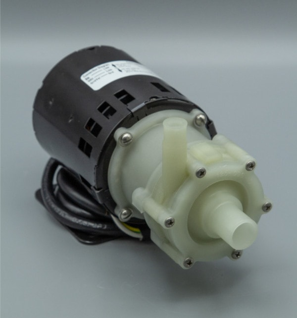 March Pump's AC-2AP-MD centrifugal sealless magnetic drive pumps ideal for chemical applications.