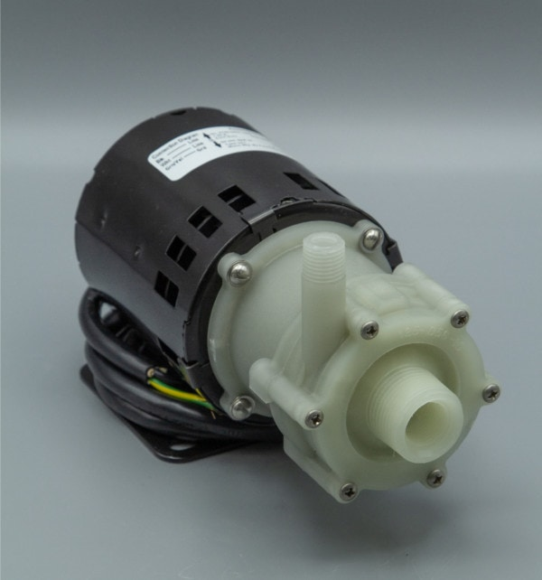 March Pump's AC-2CP-MD centrifugal sealless magnetic drive pumps ideal for chemical applications.