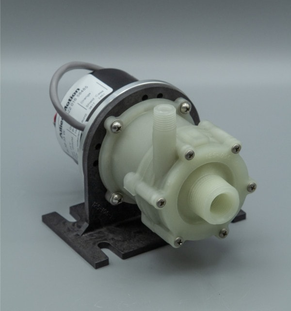 March Pump's BC-2CP-MD centrifugal sealless magnetic drive brushless pumps ideal for chemical applications.