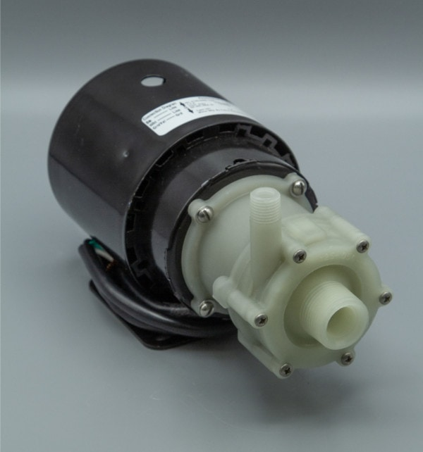 March Pump's BC-2CP-MD centrifugal sealless magnetic drive pumps constructed from Polypropylene ideal for chemical applications.