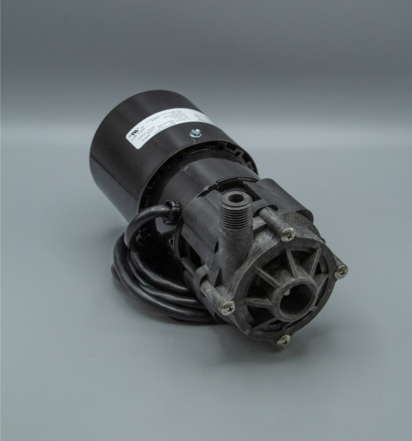 March Pump's BC-3K-MD centrifugal sealless magnetic drive pumps constructed from PVDF ideal for chemical applications.