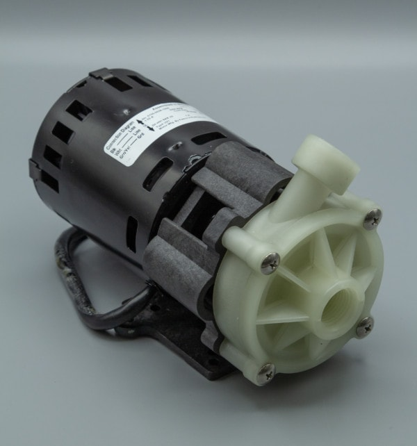 March Pump's MDXT-3 centrifugal sealless magnetic drive pumps ideal for oem applications.