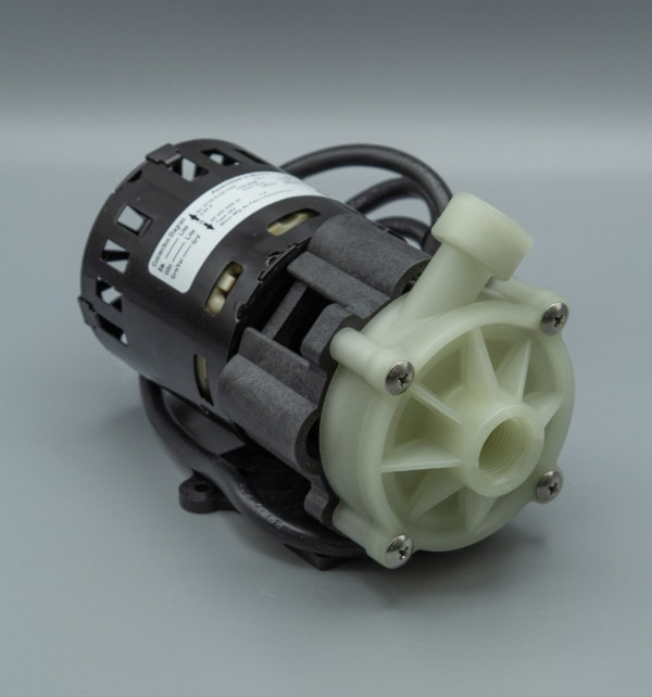 March Pump's MDXT centrifugal sealless magnetic drive pumps ideal for oem applications.