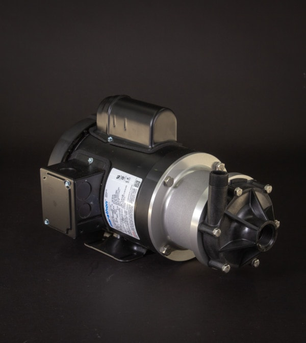 March Pump's TE-6P-MD centrifugal sealless magnetic drive pumps ideal for chemical transfer.
