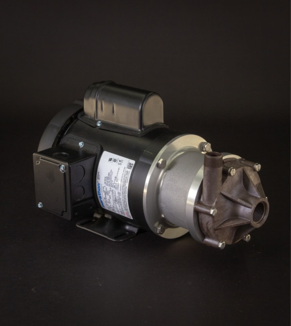 March Pump's TE-6T-MD centrifugal sealless magnetic drive pumps ideal for chemical transfer.