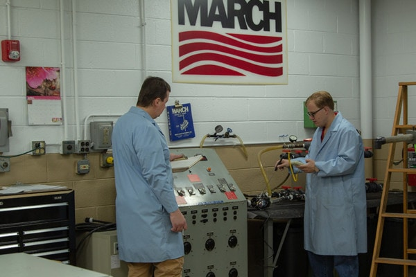 March Pump employees