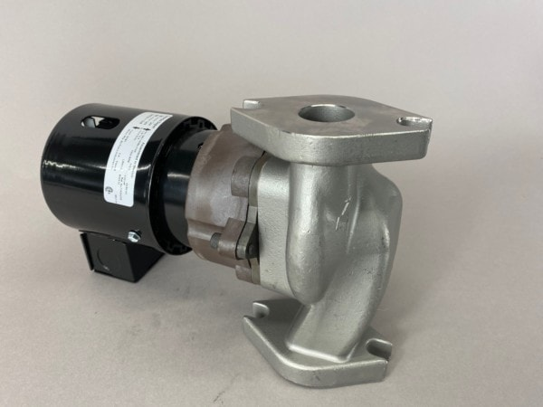 March Pump's 821-SS centrifugal sealless magnetic drive pumps ideal for hot water applications.