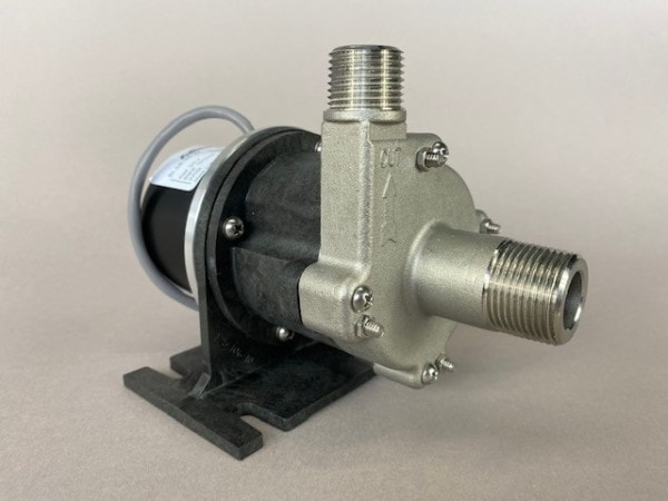 March Pump's 809-SS-HS-C centrifugal sealless magnetic drive pumps with DC brushless motor.
