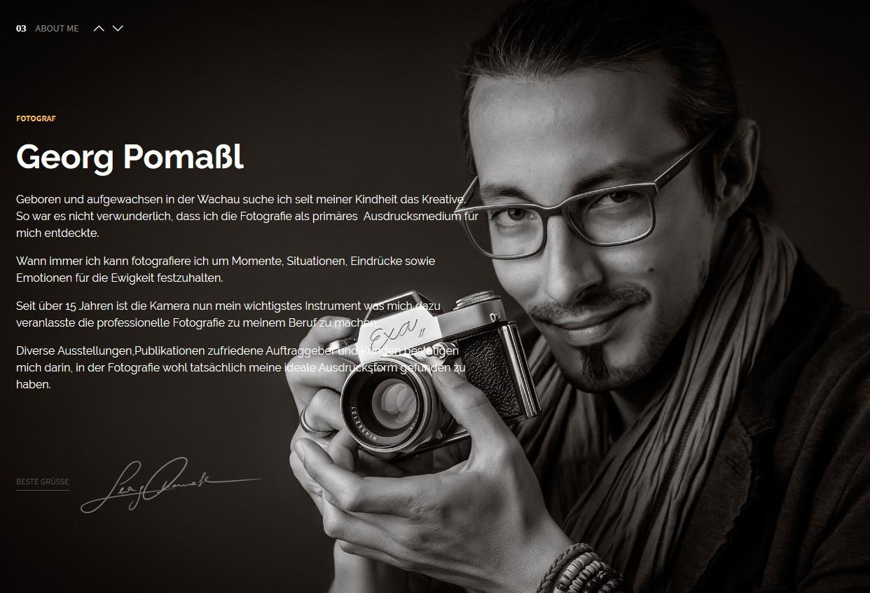 Georg Pomassl – Fotograf