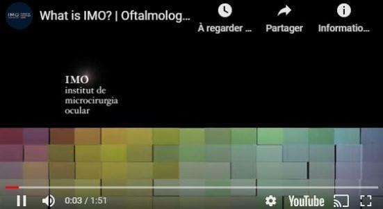 Rendez-vous IMO. Clinique ophtalmologique IMO Barcelone (Espagne)