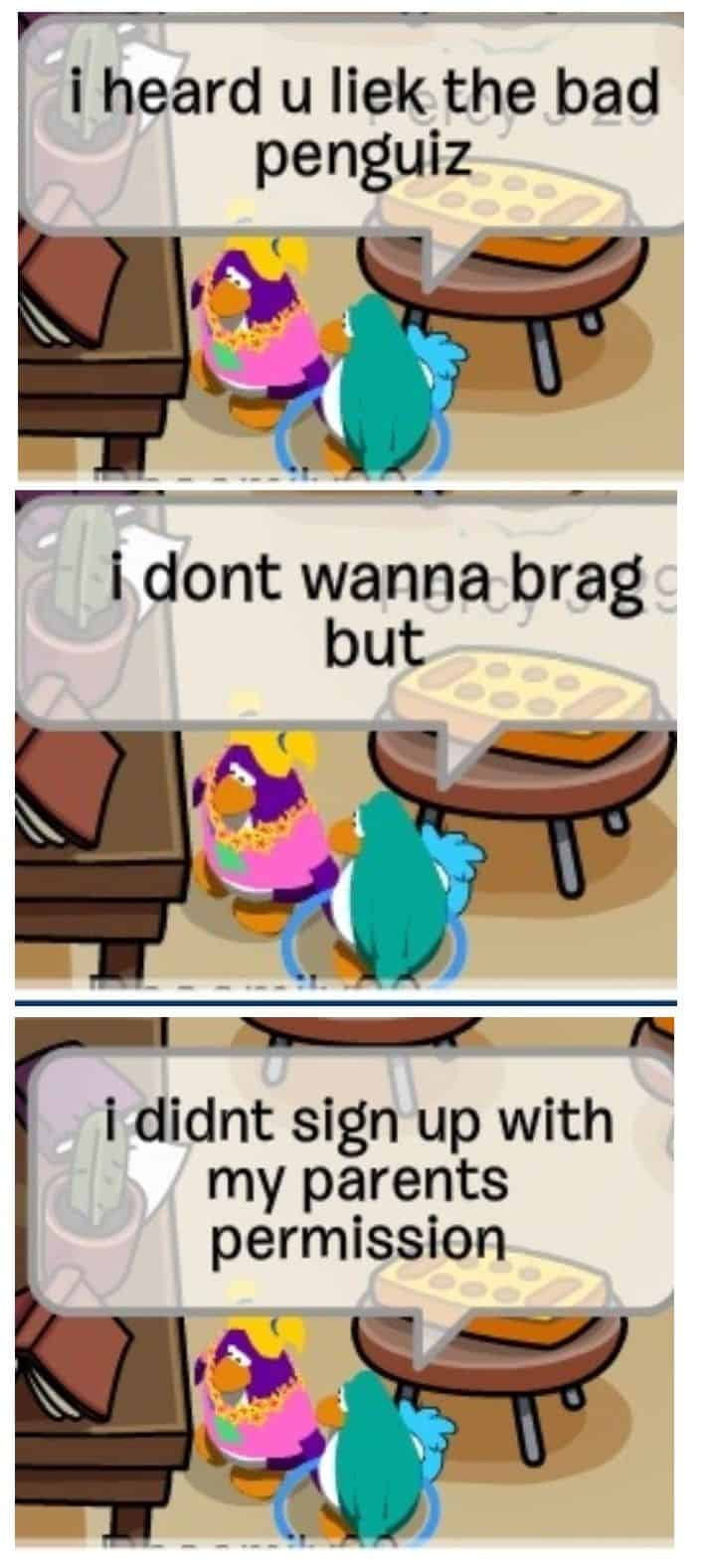 Top 29 Club Penguin Memes