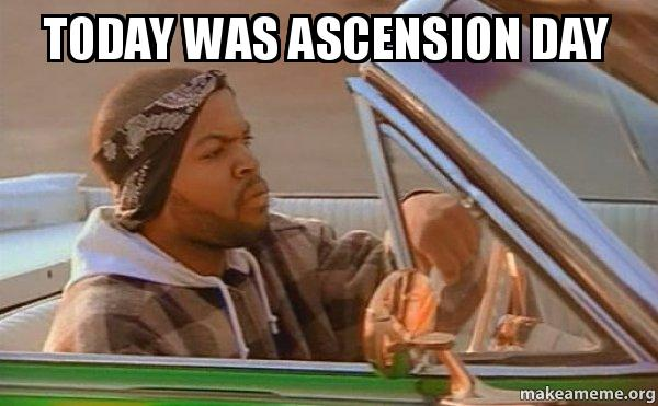 15 top Ascension Day memes